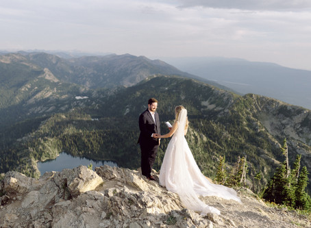 Mt. Aeneas Summit Adventure Session | Elopement Photographer