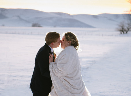 Montana Winter Wedding