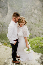 131Blodgett Canyon Overlook Elopement_El