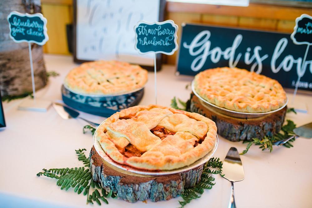 Bakery for Glacier National Park Wedding