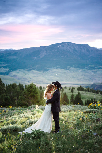 299Yellowstone National Park Wedding_Mon