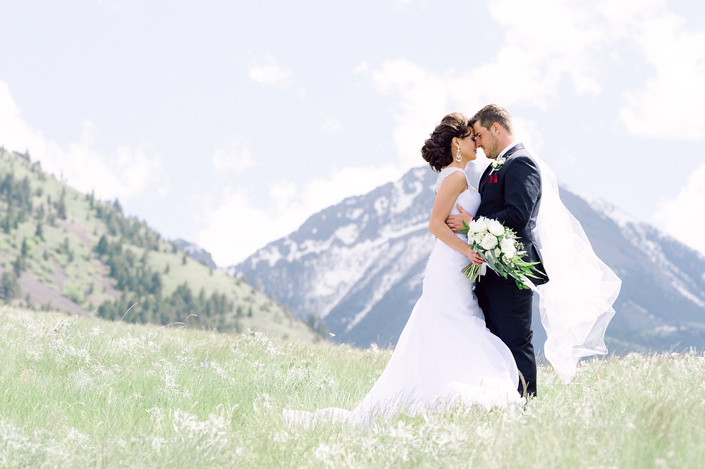 Montana wedding venue at Chico Hot Springs