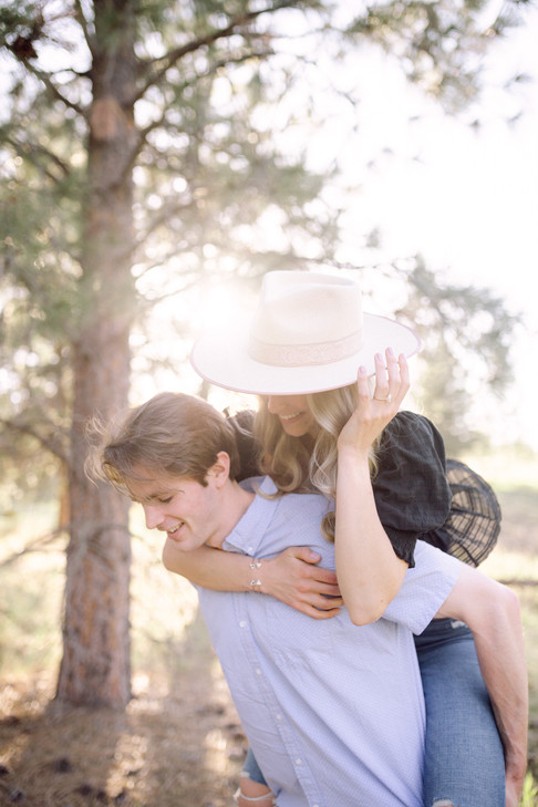 Missoula Engagement Session at Blue Mountain
