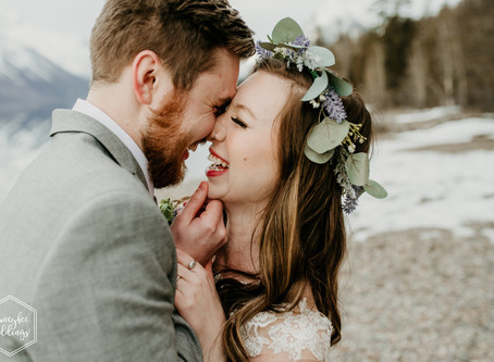 Glacier National Park Spring Elopement  |  Elopement Photographer