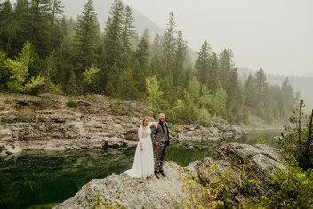 345 Fall Glacier National Park Elopement
