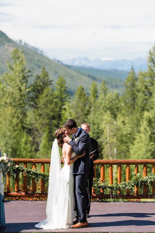 Glacier Outdoor Center Wedding