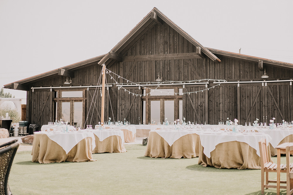 Missoula wedding venues. The Barn on Mullan.