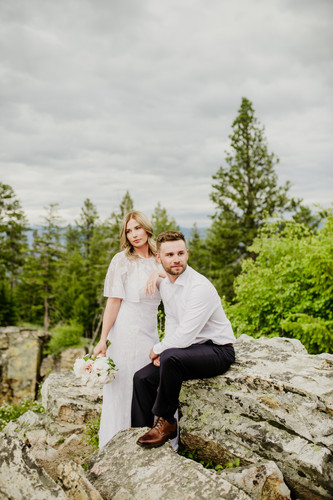 083Blodgett Canyon Overlook Elopement_El