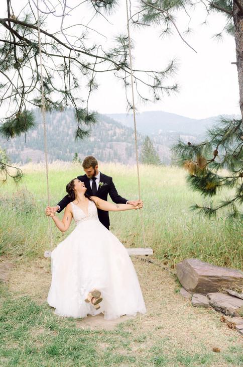 015White Raven Wedding, Montana Wedding