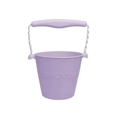 """Scrunch Bucket"" silikoninis kibirėlis, Lila"