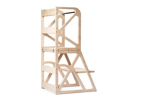 Montessori bokštelis MIMO-Tower natūralus