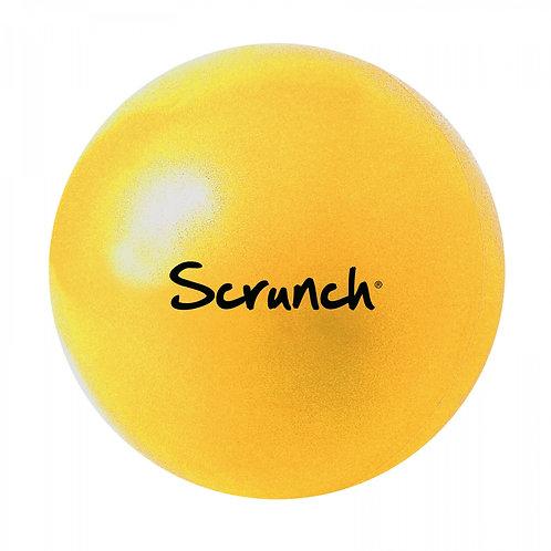 """,,Scrunch"""" silikoninis kamuolys, Pastelinė geltona"""