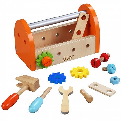 Medinis įrankių rinkinys dežutėje Classic World
