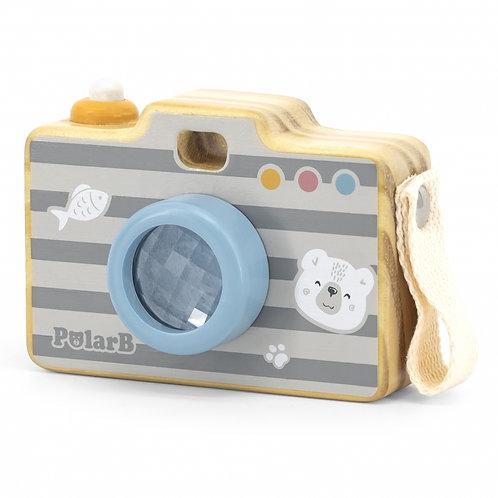 VIGA PolarB Medinis vaikiškas fotoaparatas kaleidoskopas