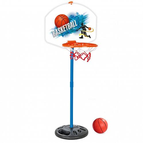 WOOPIE Klasikinis krepšinio rinkinys 117 cm + kamuolys