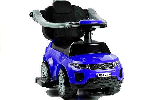Paspiriamas vaikiškas automobilis SPORT BLUE