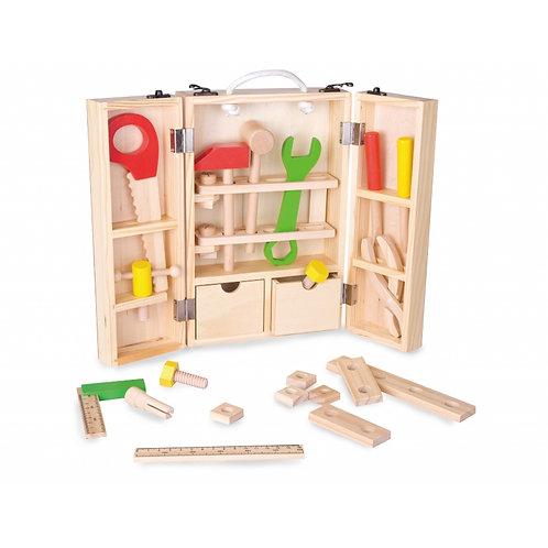 Medinė įrankių dėžė ClassicWorld