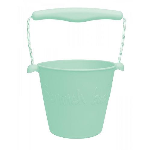 """Scrunch Bucket"" silikoninis kibirėlis, Mėta"