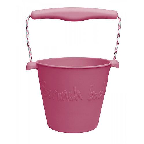 """""""Scrunch Bucket"""" silikoninis kibirėlis, Vyšninė"""