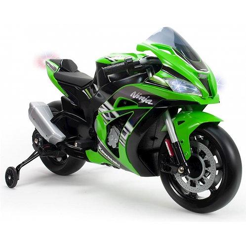 Akumuliatorinis motociklas INJUSA Kawasaki Ninja 12V