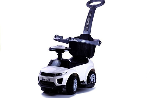 Paspiriamas vaikiškas automobilis WHITE
