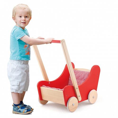 """Medinis lėlių vežimėlis """"Viga"""""""