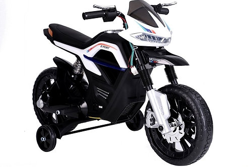 Akumuliatorinis motociklas JT5158 White