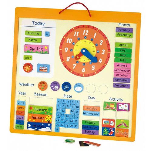 Magnetinis edukacinis kalendorius Viga