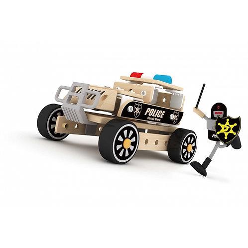 """Medinis konstruktorius """"Policijos mašina"""""""
