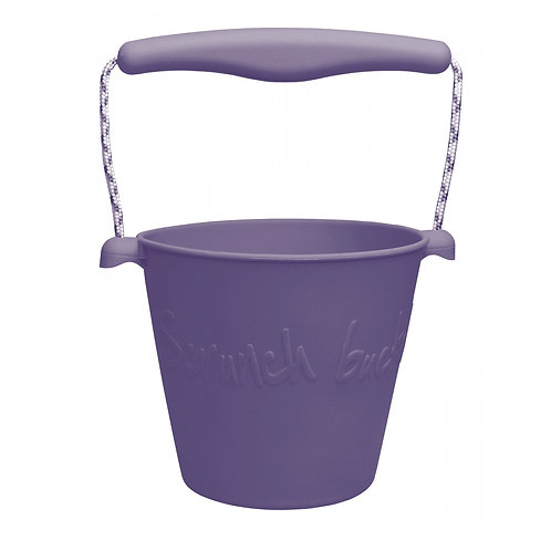 """""""Scrunch Bucket"""" silikoninis kibirėlis, Purpurinė"""