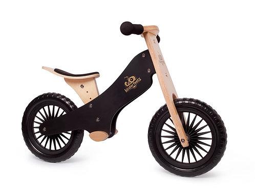 Balansinis dviratis Kinderfeets Classic Black