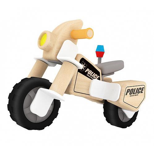 Medinis konstruktorius Policijos motociklas