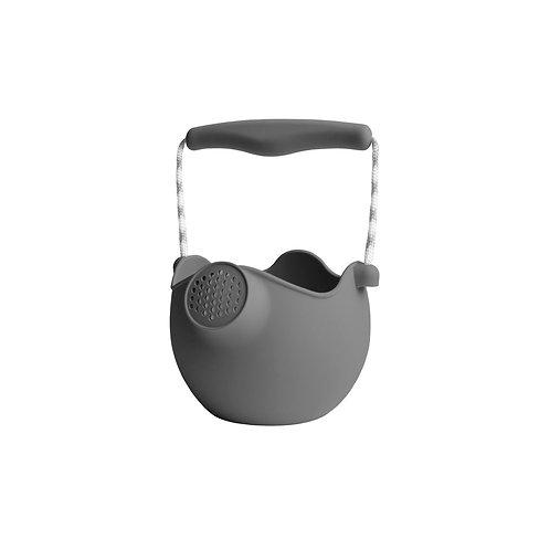 ,,Scrunch'' silikoninis laistytuvas - kibirėlis 2in1, Tamsiai pilka