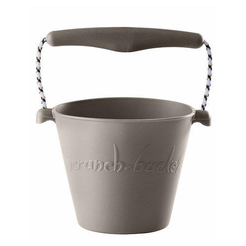 """Scrunch Bucket"" silikoninis kibirėlis, Pilkas"