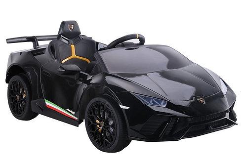 Akumuliatorinė mašinėlė Lamborghini Huracan Black
