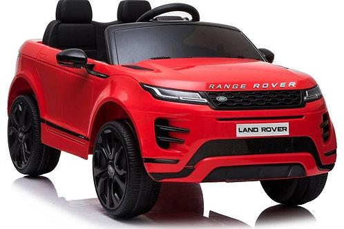 Akumuliatorinė mašinėlė Range Rover Evoque Red