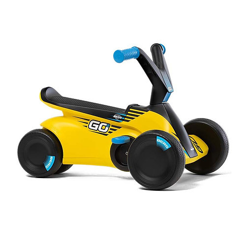 Minama vaikiška mašinėlė BERG GO² Sparx Yellow