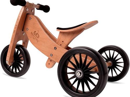 Balansinis dviratukas Kinderfeets Tiny Tot Plus Bamboo