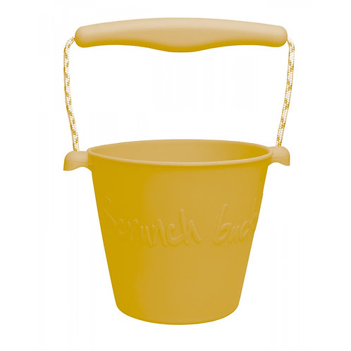 """Scrunch Bucket"" silikoninis kibirėlis, Mustard"