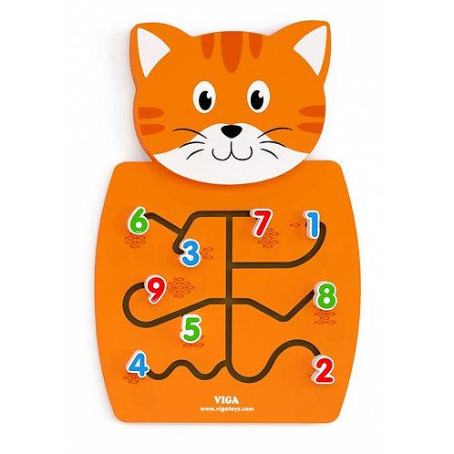 Daugiafunkcinis medinis sieninis žaidimas Katinas, Viga