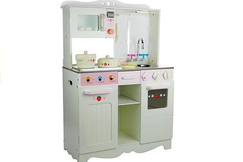 Medinė vaikiška virtuvė