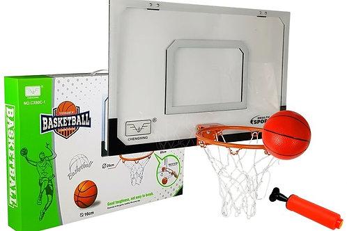 Krepšinio rinkinio lenta su krepšiu