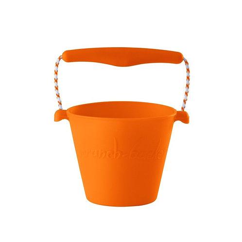 """""""Scrunch Bucket"""" silikoninis kibirėlis, Oranžinė"""