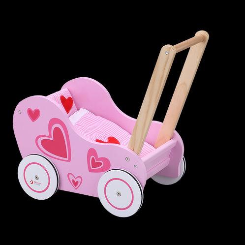 """Medinis lėlių vežimėlis """"Classic World"""""""