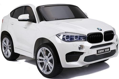 Akumuliatorinė mašinėlė BMW X6M White