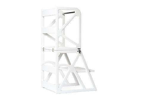 Montessori bokštelis MIMO-Tower baltas