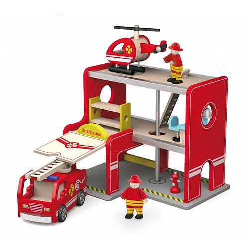 Medinė gaisrinės stotis