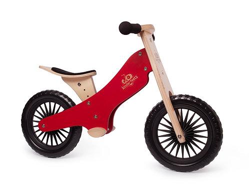 Balansinis dviratis Kinderfeets Classic Red