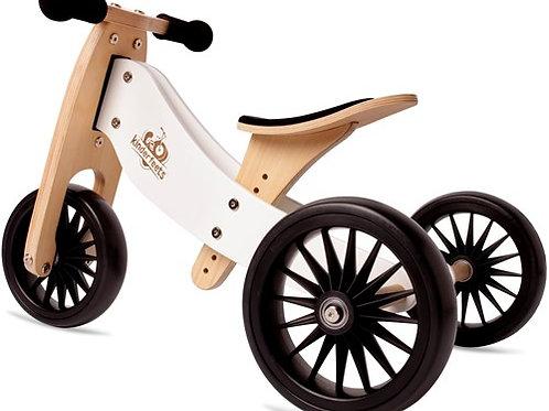 Balansinis dviratukas Kinderfeets Tiny Tot Plus White