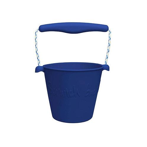 """Scrunch Bucket"" silikoninis kibirėlis, Granat"